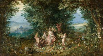 Aarde, Jan Brueghel de Ouderen
