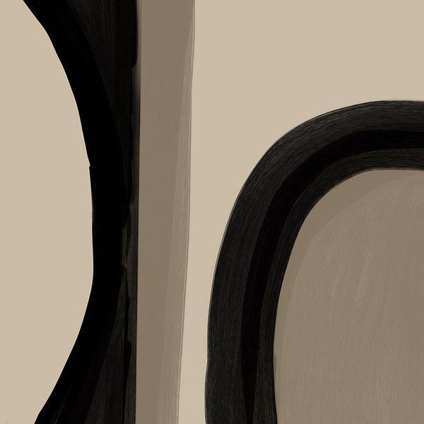 Modern Abstract -acutus van YOPIE illustraties