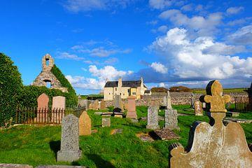 Schotland, graveyard bij Faraid Head (Durness) von Marian Klerx