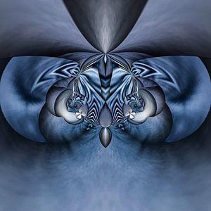 Phantasievolle abstrakte Twirl-Illustration 90/20