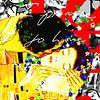 """Famous Love couples - """"The Kiss"""" von Jole Art (Annejole Jacobs - de Jongh) Miniaturansicht"""