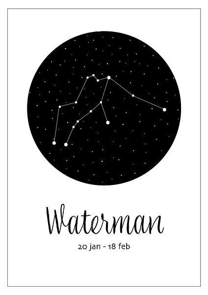 Sternbild Wassermann, niederländisch von Nynke Altenburg