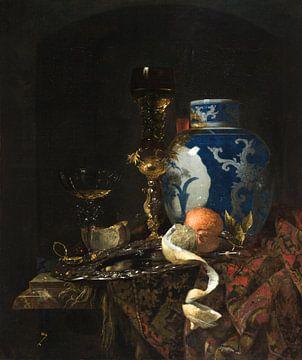 Nature morte avec une jarre en porcelaine chinoise, Willem Kalf