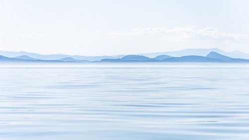 Rustiek Vancouver Island in blauwtinten