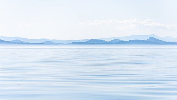 L'île de Vancouver rustique aux tons bleus