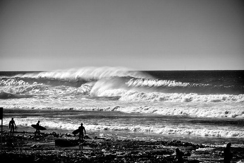 Big waves Tenerife  van massimo pardini