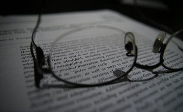Lenzen met een bril sur