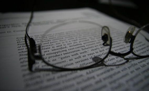 Lenzen met een bril