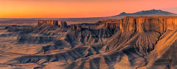 The Badlands overview, Utah