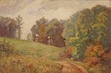 T C. Steele (Amerikaner, 1847-1926)~Landschaft Indiana
