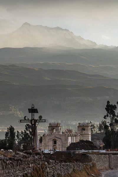 Kerk in Yanque, Colca Canyon, Peru