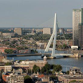 Rotterdam skyline van Reinier Snijders