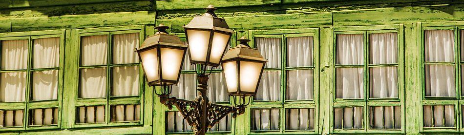 Lantaarn in Almagro van Harrie Muis