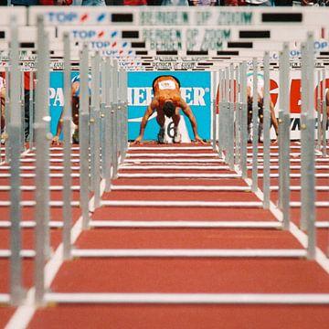 Hürdenläufer von Gerrit de Heus