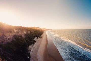 Pipa strand zonsondergang 3 van Andy Troy