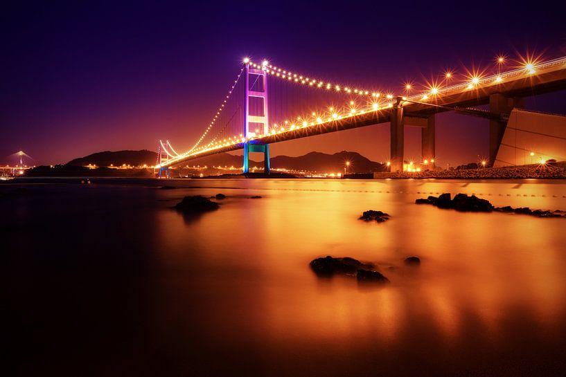 Tsing Ma Bridge van Cho Tang