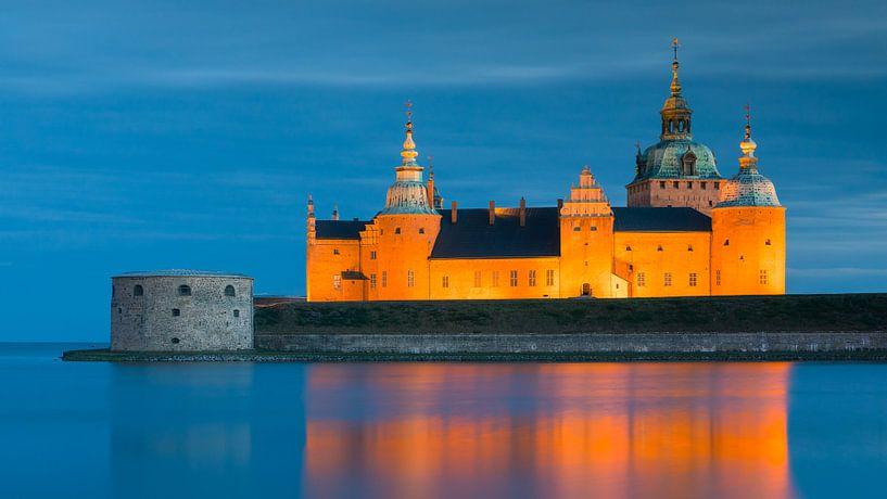 Kasteel van Kalmar, Zweden van Henk Meijer Photography