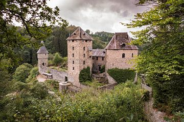 Castle Reinhardstein near Robertville  van Compuinfoto .