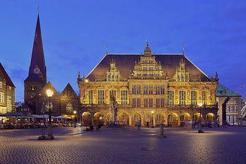 Stadhuisplein van Bremen van Patrick Lohmüller