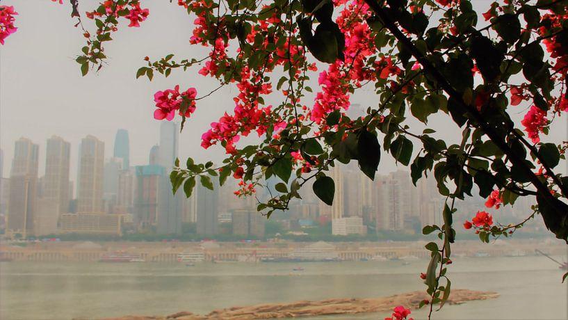 Poésie du fleuve Yangtze 2 sur Loretta's Art