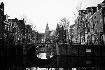 spiegelgracht Amsterdam von Dick Veldhuisen