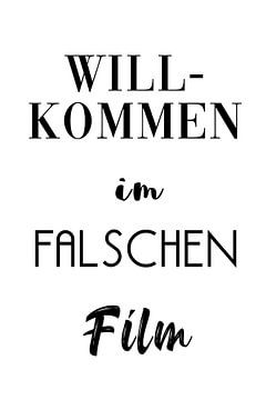 Welkom bij de verkeerde film van Felix Brönnimann