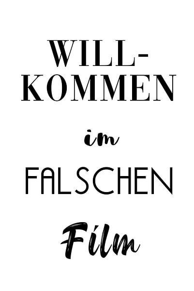 Willkommen im falschen Film von Felix Brönnimann