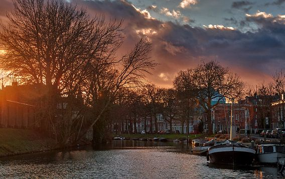 Wittevrouwensingel,Utrecht van Robin Pics