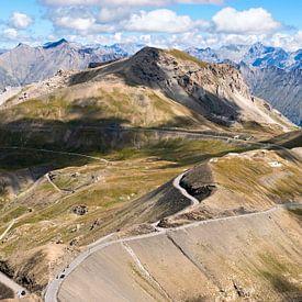 uitzicht vanaf de Col de la Bonette van Hanneke Luit