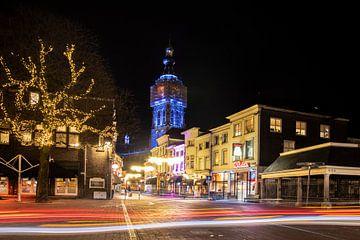 Breda by night van Tom Hengst