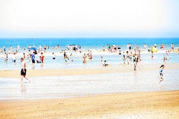 Een dagje naar het strand 2 van Jacomijn Dijkers