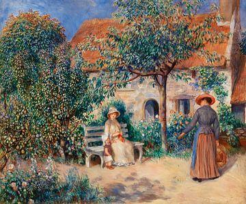 Renoir, In der Bretagne (1886)