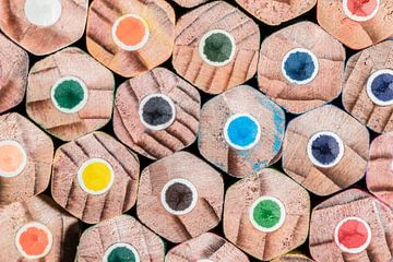 Colored pencil van Tilo Grellmann