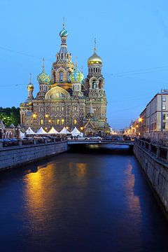 Bloedkerk van St. Petersburg van Patrick Lohmüller