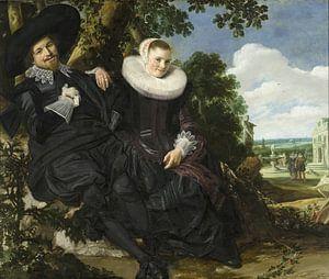Portrait eines jungen Paares - Frans Hals