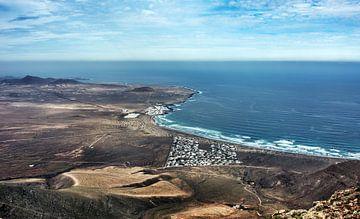 Famara, het surfers paradijs von Harrie Muis