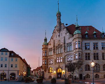 Stadhuis Helmstedt kort voor zonsopgang van Marc-Sven Kirsch
