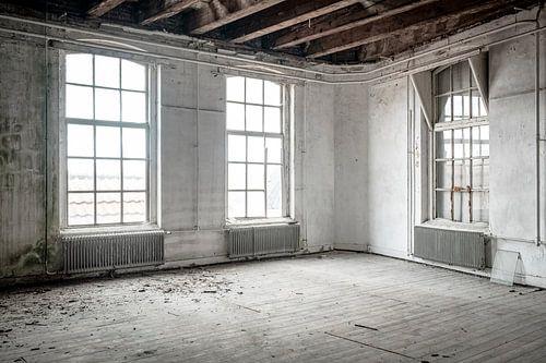 Urbex school gebouw interieur