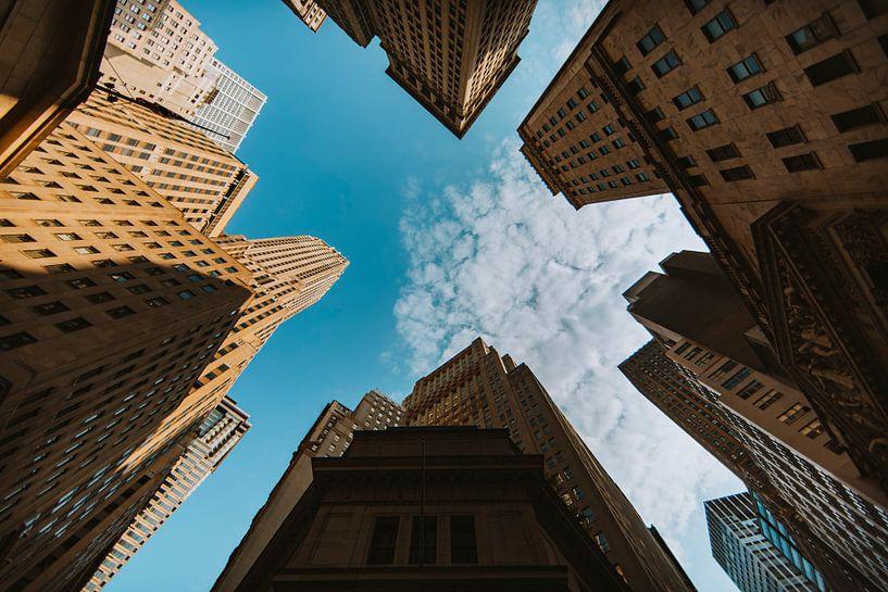 Skyscrapers New York van Maikel Claassen Fotografie
