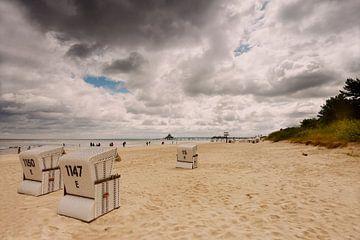 Strand aan de Oostzee van Dieter Ludorf