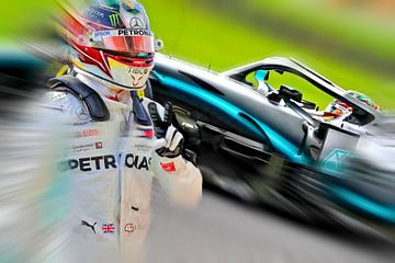 Lewis Hamilton Wereldkampioen 2019 van Jean-Louis Glineur alias DeVerviers