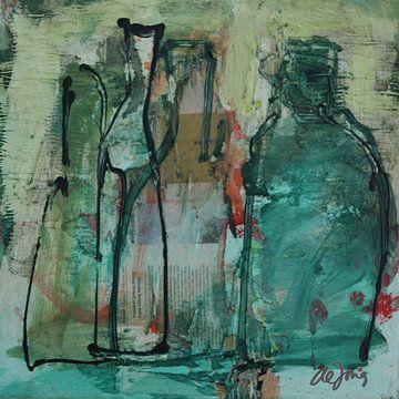 Flessen (7) von Leo de Jong