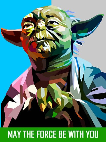 Pop Art Yoda - Star Wars