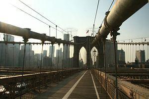 Brooklyn Bridge New York van Rosemarijn Groenink