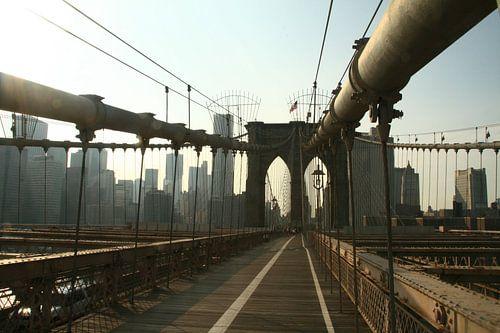 Brooklyn Bridge New York von Rosemarijn Groenink
