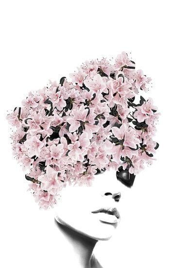 Flower lady III van Dreamy Faces