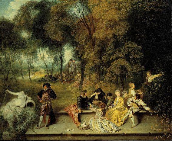 Antoine Watteau - Pleasures of Love