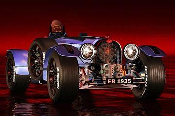 Oldtimer – Bugatti Type 33 von Jan Keteleer