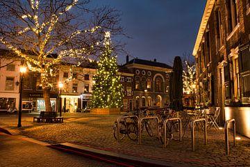 De Grote Markt in Schiedam sur Charlene van Koesveld