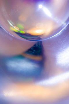 Glas Reflection sur Edith Lüthi